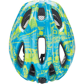 KED Meggy Trend Helmet Kinder blue yellow